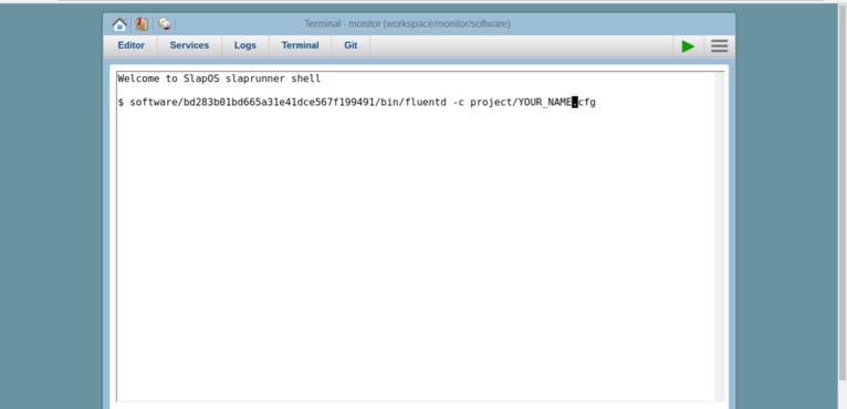 Wendelin-ERP5 Webrunner FluentD File Transfer